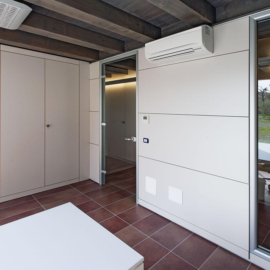 Parete divisoria best parete divisoria di design with - Parete divisoria mobile ...
